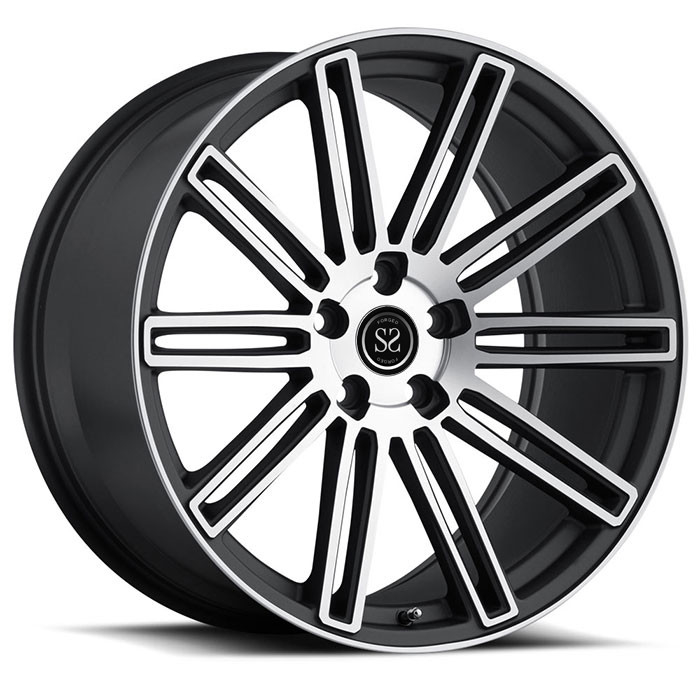 "1- Piece Forged Wheels Gloss Black Car Rims 18"" 19"" With  5x108 Ford Fusion Car Rims"